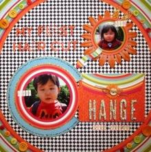 みかんMAMA♪の『OH MY HAPPY BOY☆』-KIMAMAオレンジ