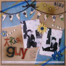 みかんMAMA♪の『OH MY HAPPY BOY☆』-kimamaクラフト1